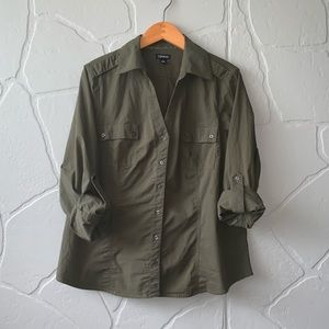 CLEARANCE! Green Button Down